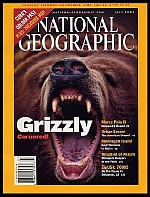 Brody on the cover of National Geographic Magazine