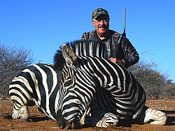 Dick Scorzafava | african safari hunt | Zebra