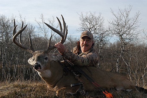 Dick Scorzafava with his 2008 Whitetail Deer